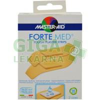 Náplasti Master Aid Forte Med, 2 velikosti, 20ks