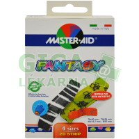 Náplasti Master Aid Fantasy barevné, 4 velikosti, 20ks