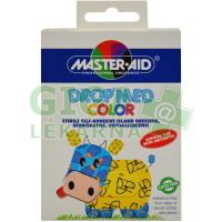 Náplasti Master Aid Drop Med Color sterilní 5x7cm 5ks