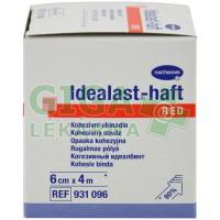 Obinadlo Idealast-haft color 6cmx4m červená