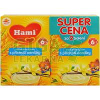 Hami kaše duopack rýžová mléčná vanilková 2x225g 6M