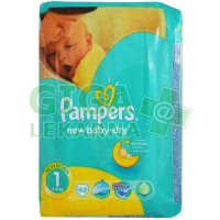 PAMPERS New Baby Newborn 2-5kg 43ks