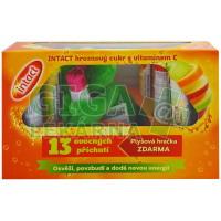 Intact hroznový cukr 13x + plyšová hračka  1 sada