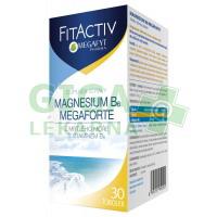 Megafyt FitActiv Magnesium B6 Megaforte tob.30