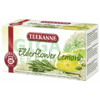 TEEKANNE Elderflower Lemon n.s.20x1.5g