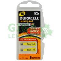 Baterie do naslouchadel Duracell DA10P6 Easy Tab 6ks