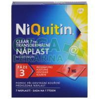 NiQuitin Clear 7mg 7 náplastí