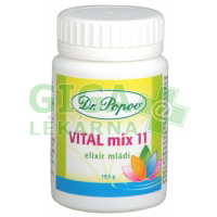 VITAL mix 11 Elixír mládí 19.5g tob.30 Dr Popov