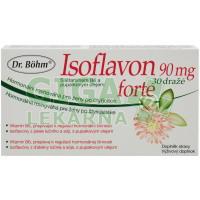 Isoflavon 90mg forte 30 dražé Dr.Böhm