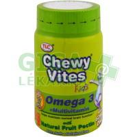 Chewy Vites Omega 3 30 želat.medvídků