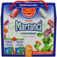 Walmark Marťánci Imunactiv MIX tbl.100+Dárek
