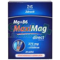 Zdrovit Maxi Mag direct Mg+B6 20 sáčků