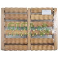 SJH 310 Roler chodidlový - velký dřevěný