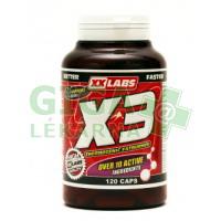 XXLABS X3 - Thermogenic Fatburner 120 kapslí