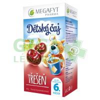 Megafyt Dětský ovocný čaj s příchutí třešně 20x2g
