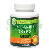 AROMATICA Vitamín D3+K2 60 tablet