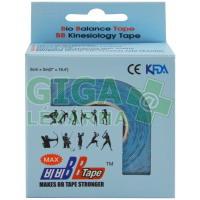 Tejpovací páska BB kinesio 5cmx5m H2O modrá