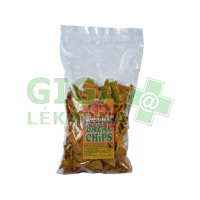 Bazalkové chipsy 150g Damodara