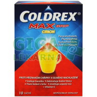 Coldrex Maxgrip Citron por.plv.sol.10 sáčků