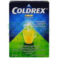 Coldrex Horký nápoj Citron 5 sáčků