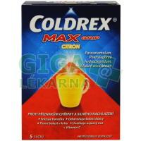 Coldrex Horký nápoj Maxgrip Citron 5 sáčků