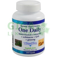 TheraTech 04 One Daily vitamíny+minerály+echinacea+Q10 100 tablet