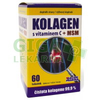Kolagen s vitamínem C+MSM tob.60