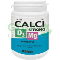 Calci Strong +Mg+D3 tbl.150 Vitabalans