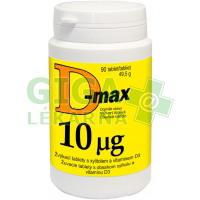 D-Max 10mcg 90 tablet