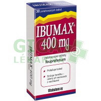 Ibumax 400mg 30 tablet