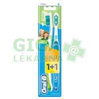Oral-B zubní kartáček 3Effect Natural Fresh 1+1