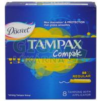 DH tampóny Tampax Regular 8ks