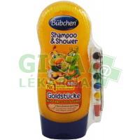 Bübchen Kids šampon a sprchový gel  230ml - Včelka+voskovky