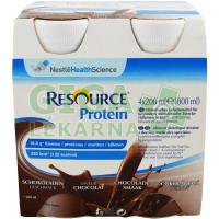 Resource Protein Čokoládový 4x200ml