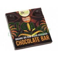 Lifefood Raw čokoláda z nepraženého kakaa BIO 95% kakao se skořicí 35g