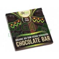 Lifefood Raw čokoláda z nepraženého kakaa BIO 80% kakao 35g