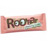 Allexx ROOBAR Datlová tyčinka moruše vanilka 30g BIO/RAW