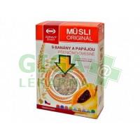 Musli originál s papájou a banánem 500g Semix