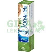 Revital Očista těla Aloe Vera base 20 šumivých tablet