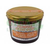 Pečené ovoce jablka, švestky, rybíz černý, bio skořice, hřeb., citron 230ml Felbabskaspižírna