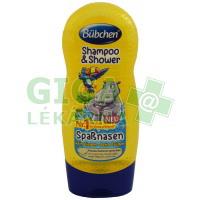 Bübchen Kids šampon a sprchový gel 230ml - Hrošík