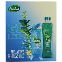 Radox Feel Active X15 (Pěna + SG 250ml)