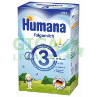 Humana 3 - 600g banán-vanilka od 10.m