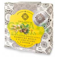 Mýdlo Natural - Bambucké máslo s ylang-ylang a ovsem 115g