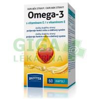 Omega-3 s vitamínem E 500mg cps.60