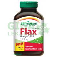 JAMIESON Flax Omega-3 1000mg lněný olej cps.200