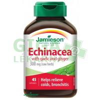 JAMIESON Echinacea s česnekem a zázvorem cps.45