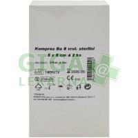 Gáza komprese sterilní 5x5cm 25x2 8 vrstev Steriwund
