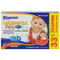 Biopron LAKTOBACILY Baby BiFi+ tob.30+10