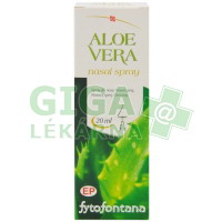 Fytofontana Aloe vera nosní spray 20ml